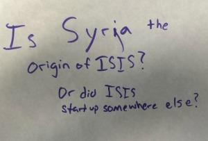 origin of isis